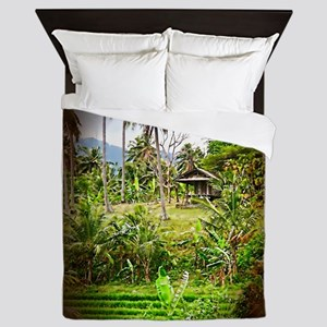 Balinese Farm Queen Duvet