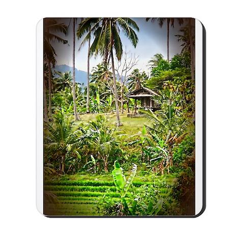 Balinese Farm Mousepad