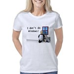 idontdowindows10x10 Women's Classic T-Shirt