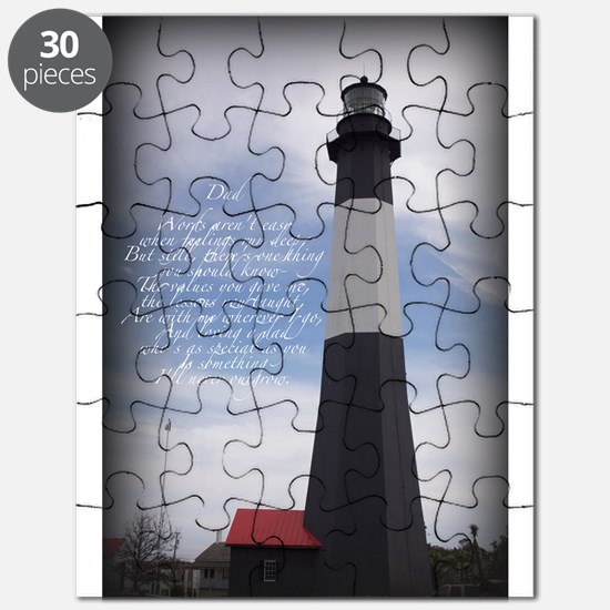 DAD lighthouse Puzzle