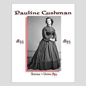 Pauline Cushman Small Poster