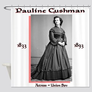 Pauline Cushman Shower Curtain