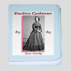 Pauline Cushman baby blanket