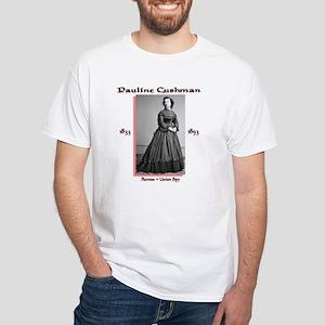 Pauline Cushman White T-Shirt
