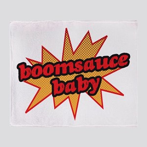 Boomsauce Baby Throw Blanket