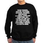 Think viruses...Linux - Sweatshirt (dark)