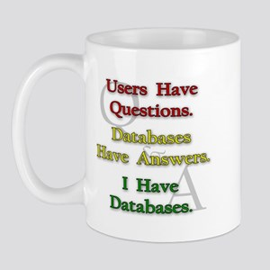 """I Have Databases"" Mug"