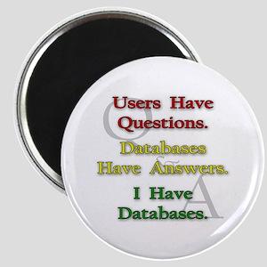 """""""I Have Databases"""" Magnet"""