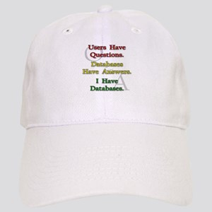 """I Have Databases"" Cap"