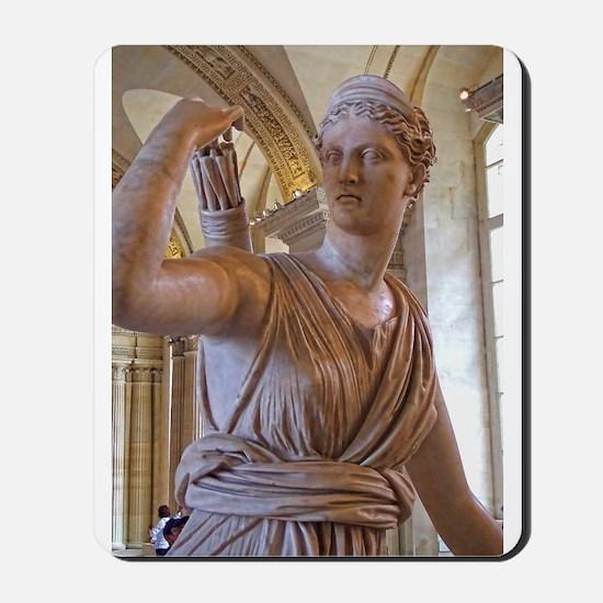 Artemis at the Louvre Mousepad