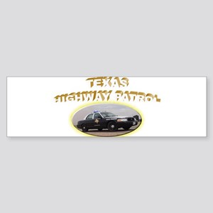 Texas Highway Patrol Sticker (Bumper)