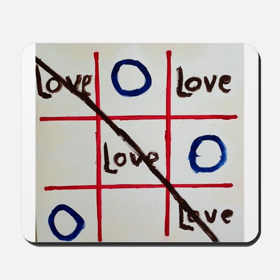 Love Wins The Game Mousepad