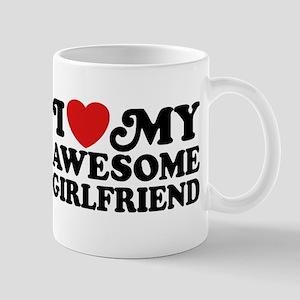 I Love My Awesome Girlfriend Mug