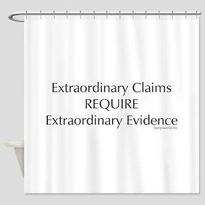Skeptics1 Shower Curtain