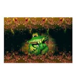 Fearful Froggy Postcards (Package of 8)