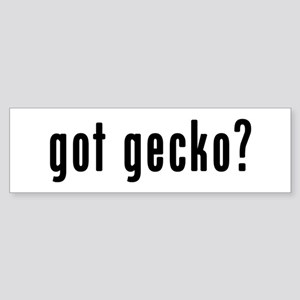 GOT GECKO Sticker (Bumper)