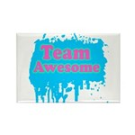 Team Awesome 2 Rectangle Magnet (10 pack)