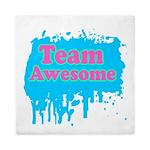Team Awesome 2 Queen Duvet