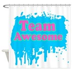 Team Awesome 2 Shower Curtain