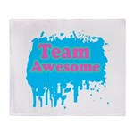 Team Awesome 2 Throw Blanket