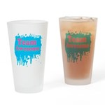 Team Awesome 2 Drinking Glass