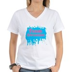 Team Awesome 2 Women's V-Neck T-Shirt