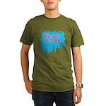 Team Awesome 2 Organic Men's T-Shirt (dark)