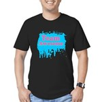 Team Awesome 2 Men's Fitted T-Shirt (dark)