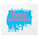 Team Awesome 2 King Duvet