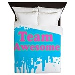 Team Awesome 2 Queen Duvet