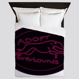 Even More Greyhounds! Queen Duvet