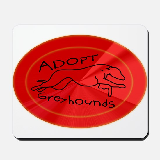 Even More Greyhounds! Mousepad