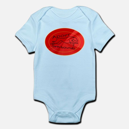 Even More Greyhounds! Infant Bodysuit