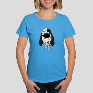 Big Nose English Setter Women's Dark T-Shirt