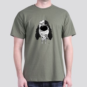 Big Nose English Setter Dark T-Shirt