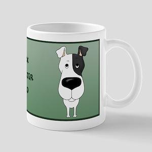 Big Nose Fox Terrier Dad Mug