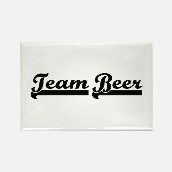 Team Beer Rectangle Magnet