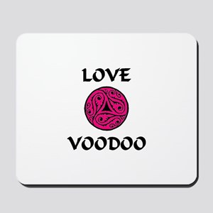 LoveVooDoo Pink/Black Mousepad