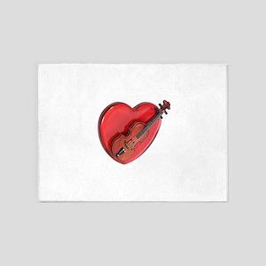LoveOfMusic082909 5'x7'Area Rug
