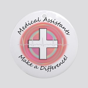 Nursing Assistant Ornament (Round)
