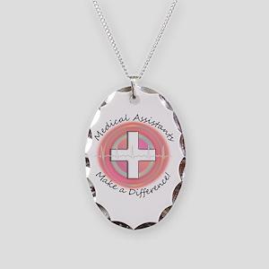 Nursing Assistant Necklace Oval Charm