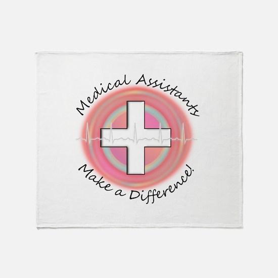 Nursing Assistant Throw Blanket