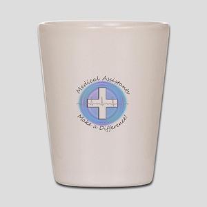 Nursing Assistant Shot Glass