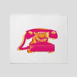 Rotary phone Throw Blanket