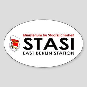 My Stasi Shoppe Oval Sticker