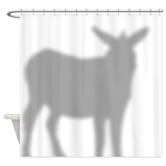 Donkey 2 Shower Curtain