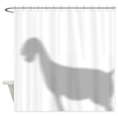 Nubian Goat Shower Curtain