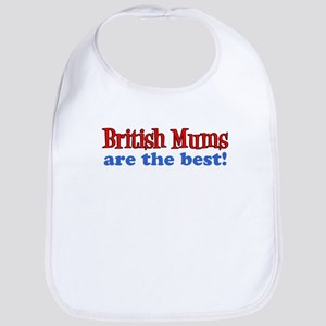 British Mums Are Best Bib