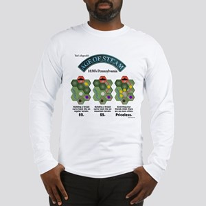 Age of Steam: 1830's PA Long Sleeve T-Shirt