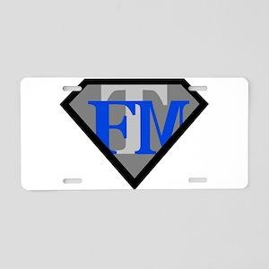 FTM Aluminum License Plate